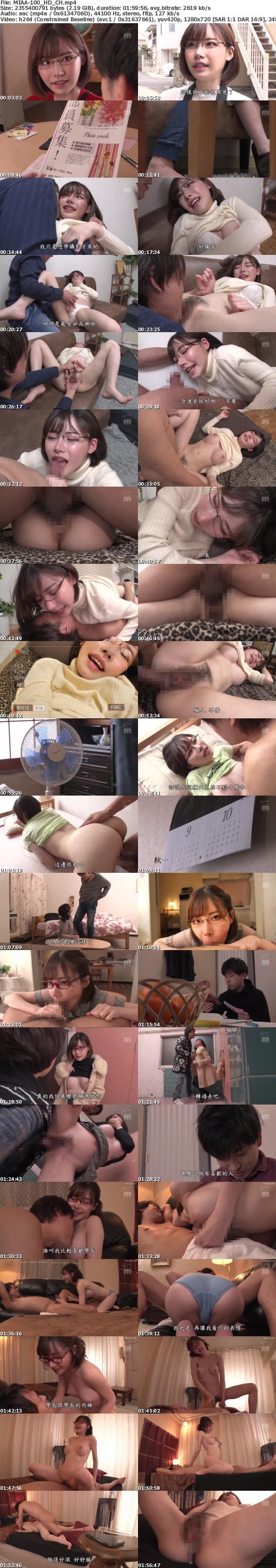 (HD) MIAA-100 女友的東京NTR Part.2 深田詠美[有碼高清中文字幕]